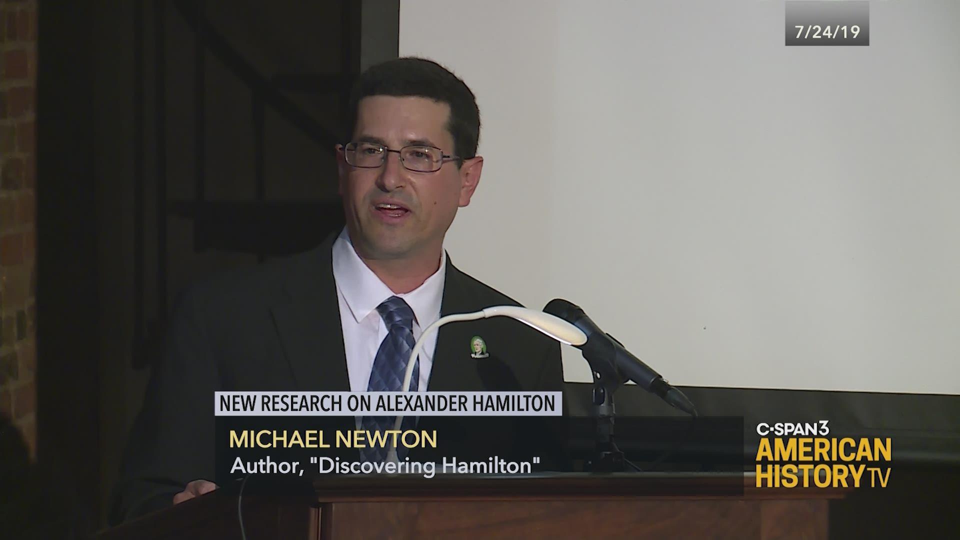 New Research on Alexander Hamilton