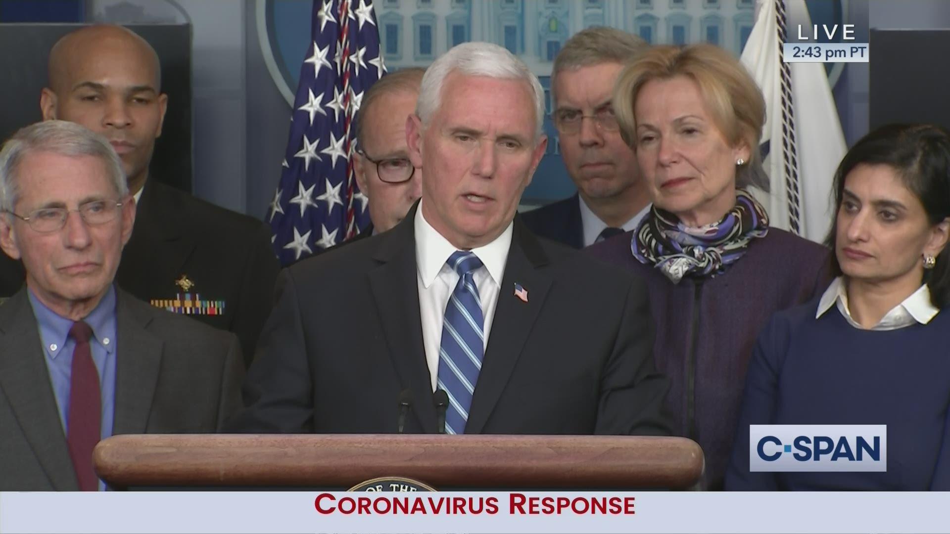 Coronavirus Task Force Briefing
