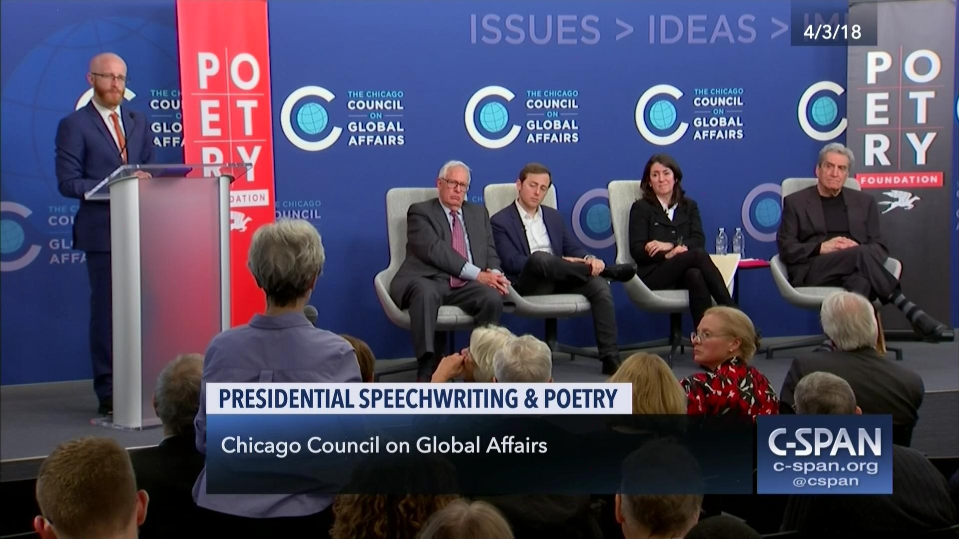 Presidential Speechwriting and Poetry