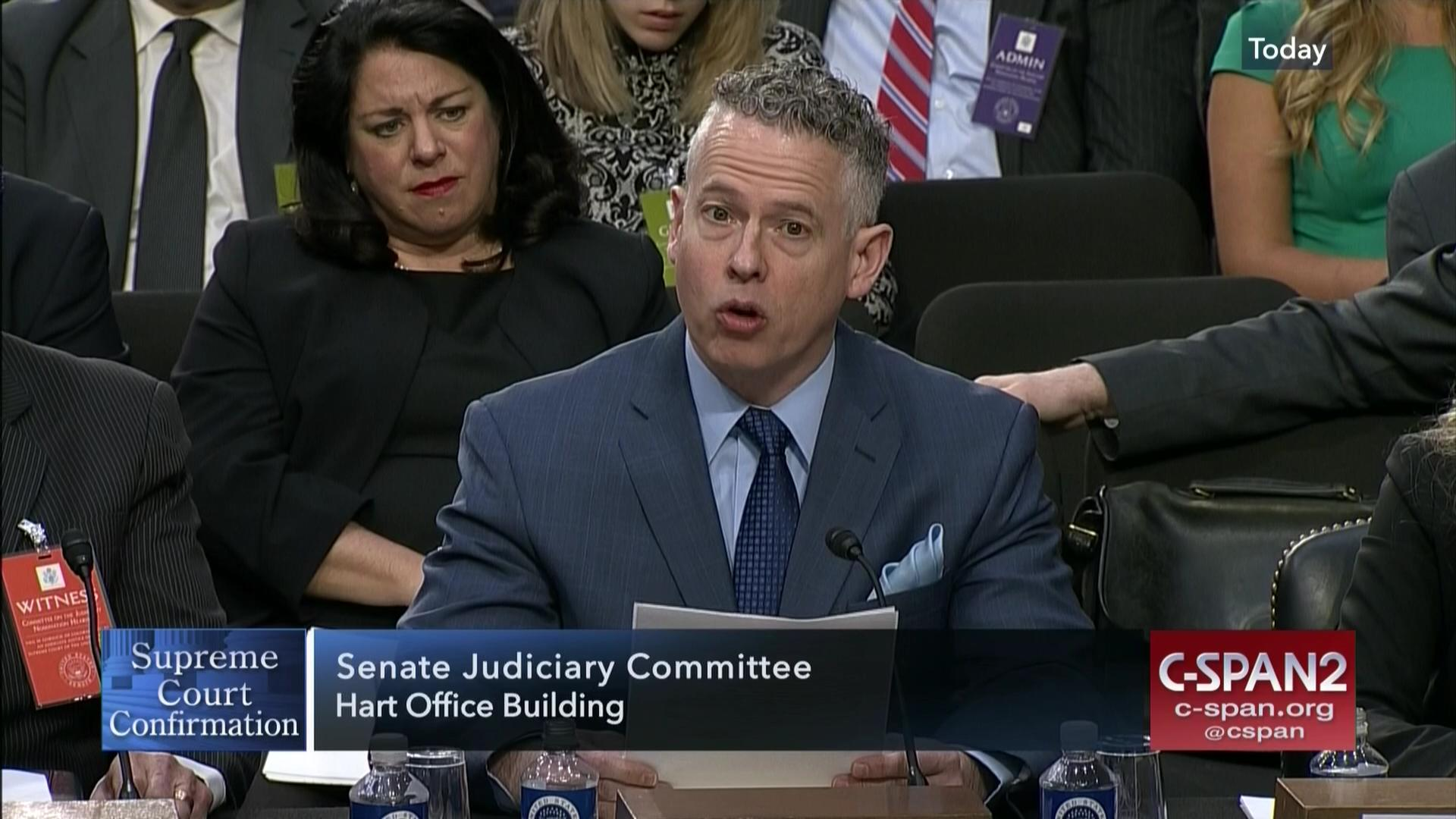 Jeff Perkins Testifys SCJ Confirmation Hearing | C SPAN.org