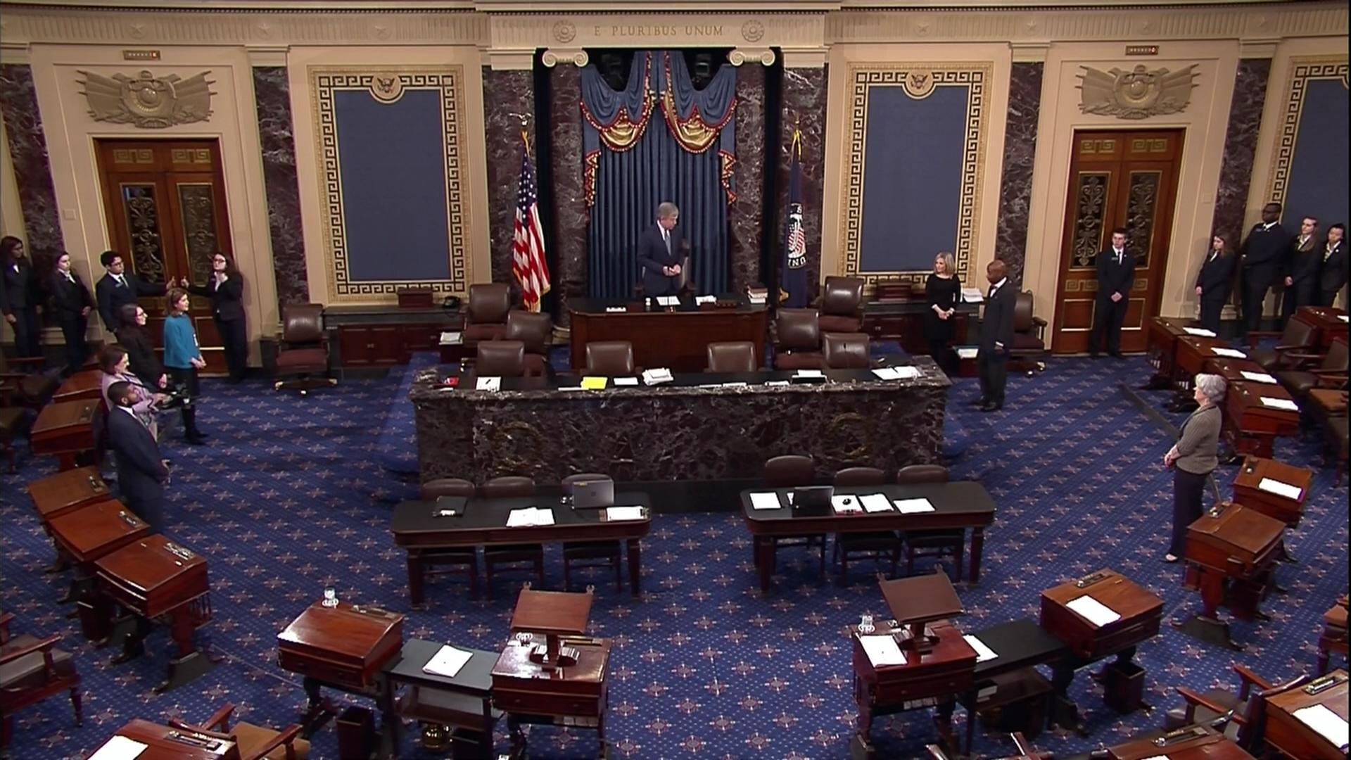 Senate Passes 13 Trillion Omnibus Spending Bill 65 32, Mar 22 2018 |  C-SPAN.org