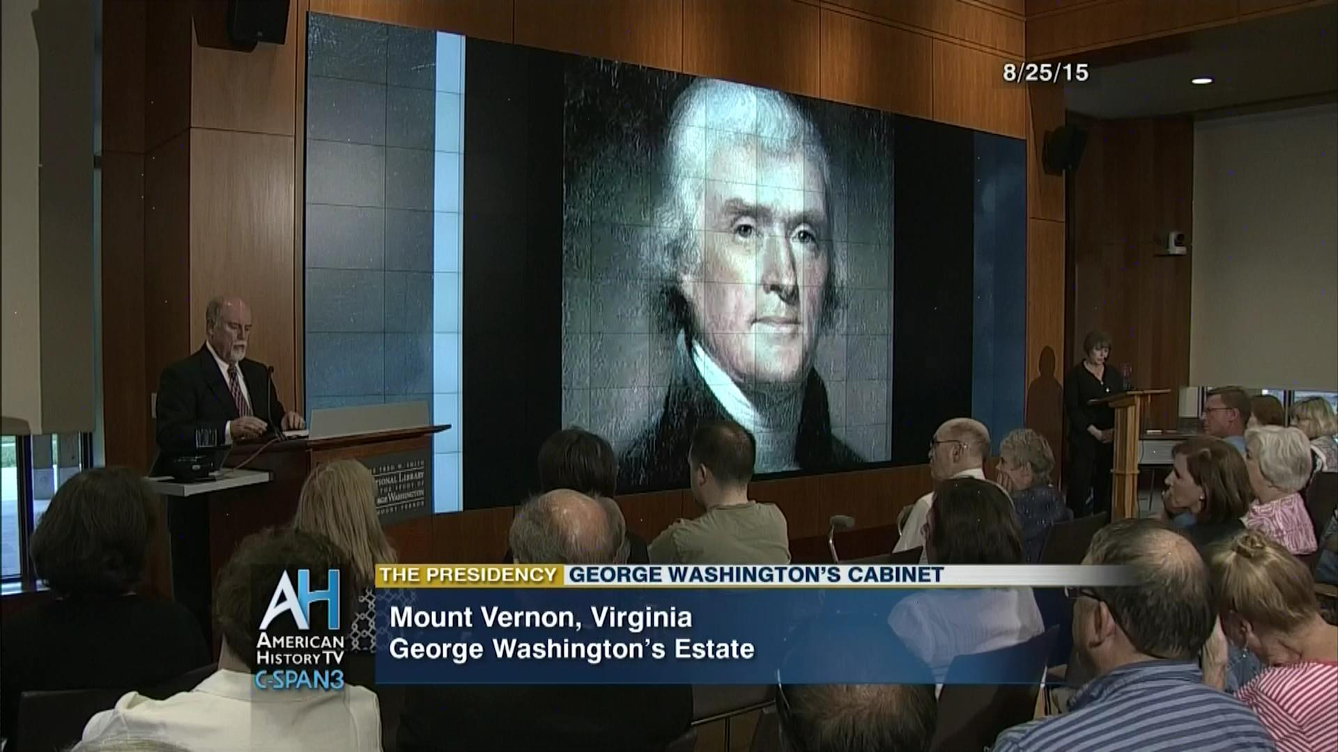 George Washingtonu0027s Cabinet, Aug 25 2015 | Video | C SPAN.org