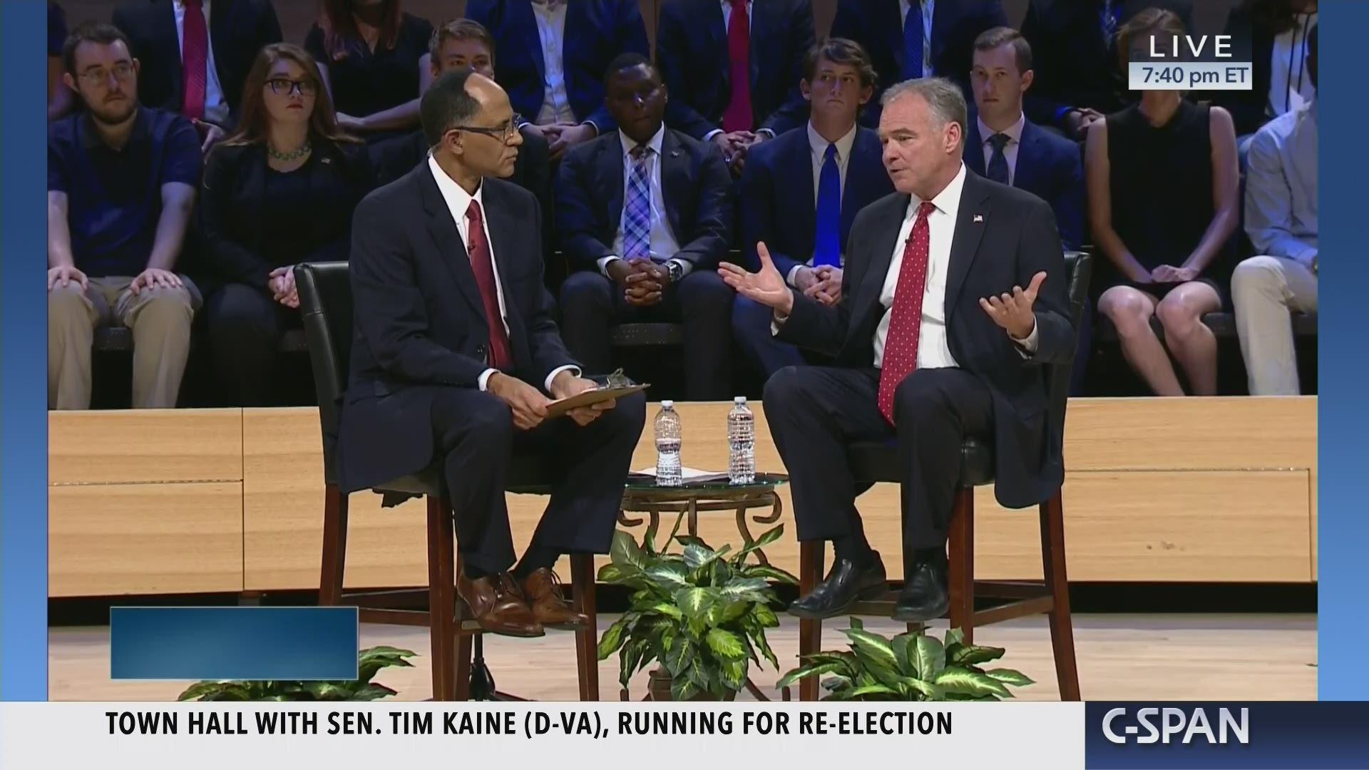 Virginia U S  Senate Debate
