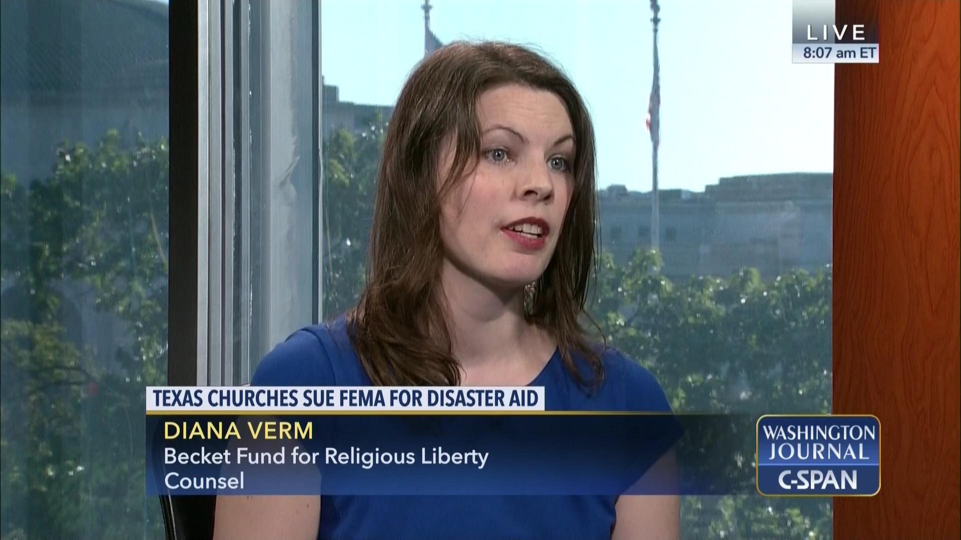 New diana high school tx fax - Washington Journal Diana Verm Disaster Relief Aid Religious C Span Org