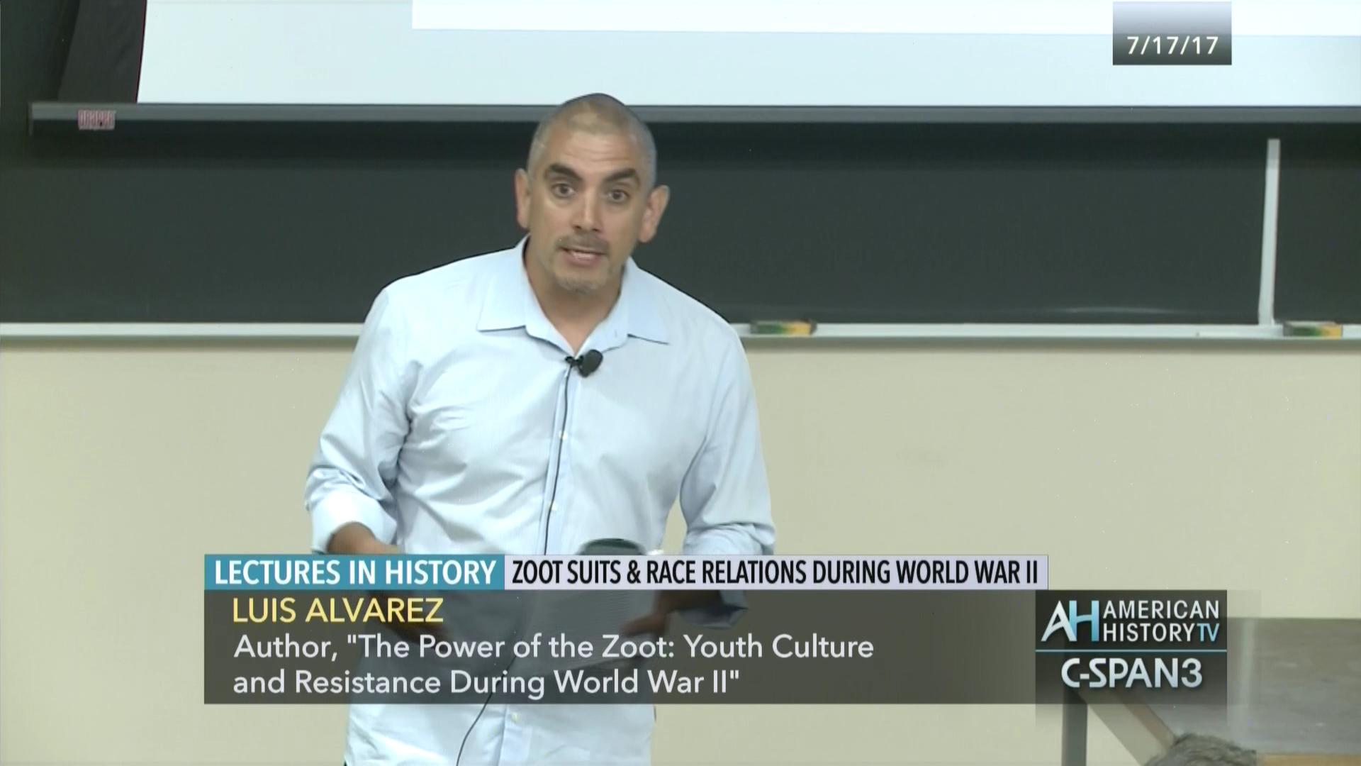 Zoot Suits Race Relations World War Ii Jul 17 2017 Video C Span
