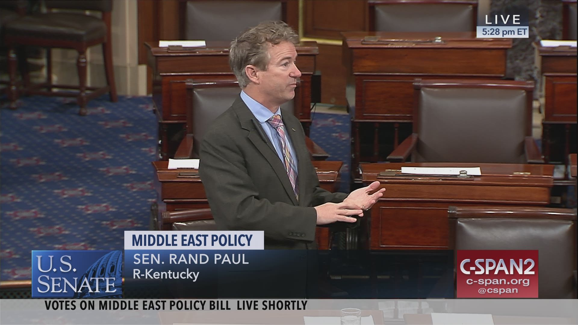 Where Rand Pauls Small Government Credo >> 2 4 19 Rand Paul Bds S 1 That Violates Our 1a C Span Org