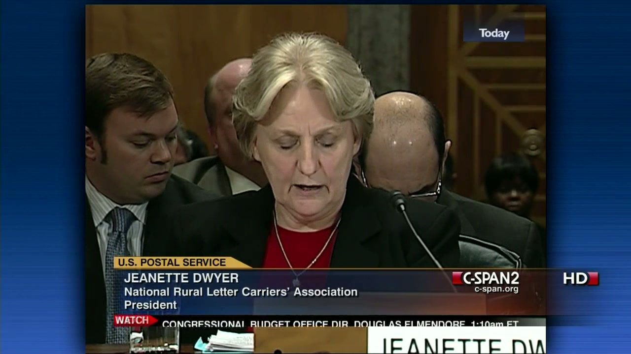 NRLCA President Dwyer Testifies before Congress