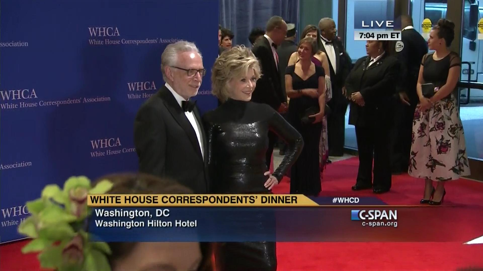2015 white house correspondents' association dinner arrivals | c