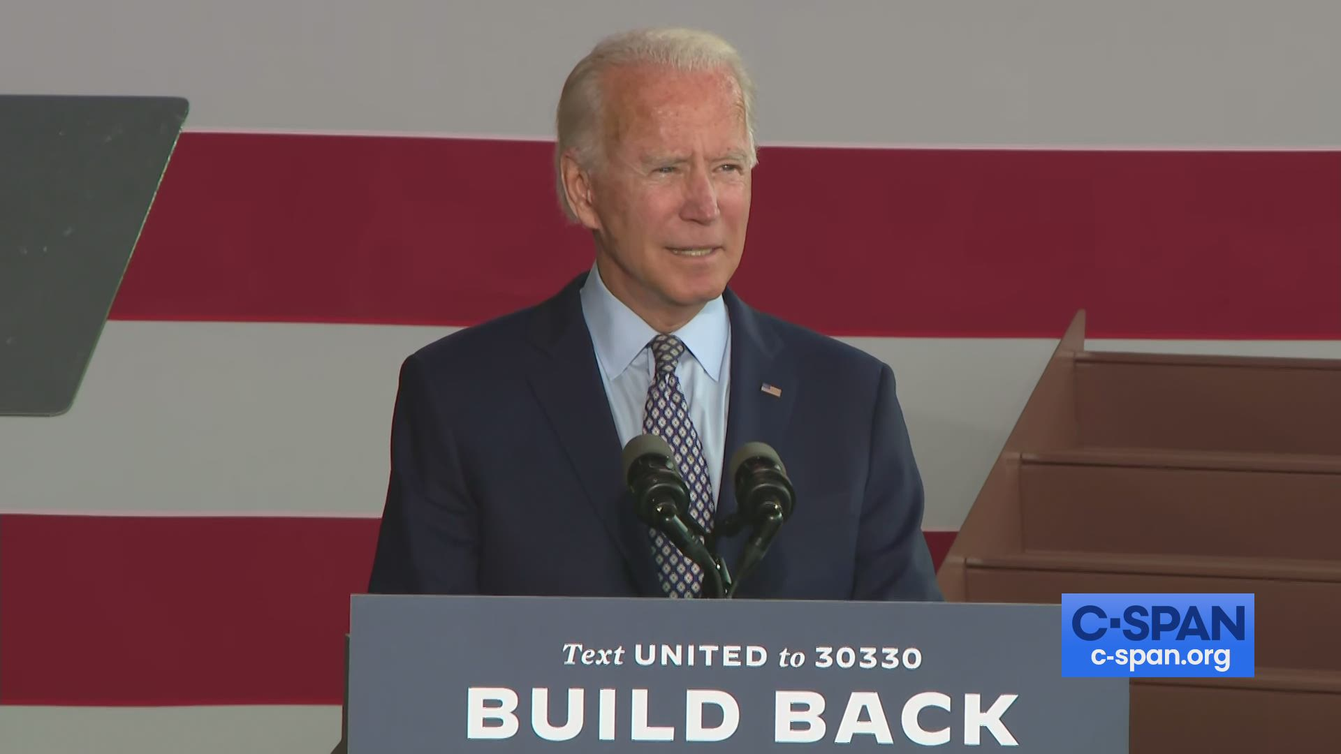 Joe Biden Speaks In Dunmore Pennsylvania C Span Org