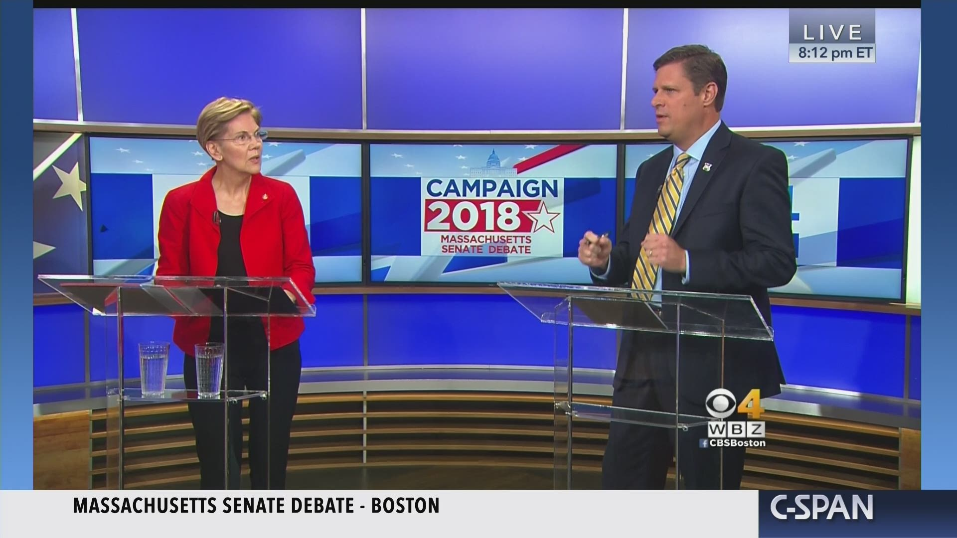 Massachusetts Senate Debate