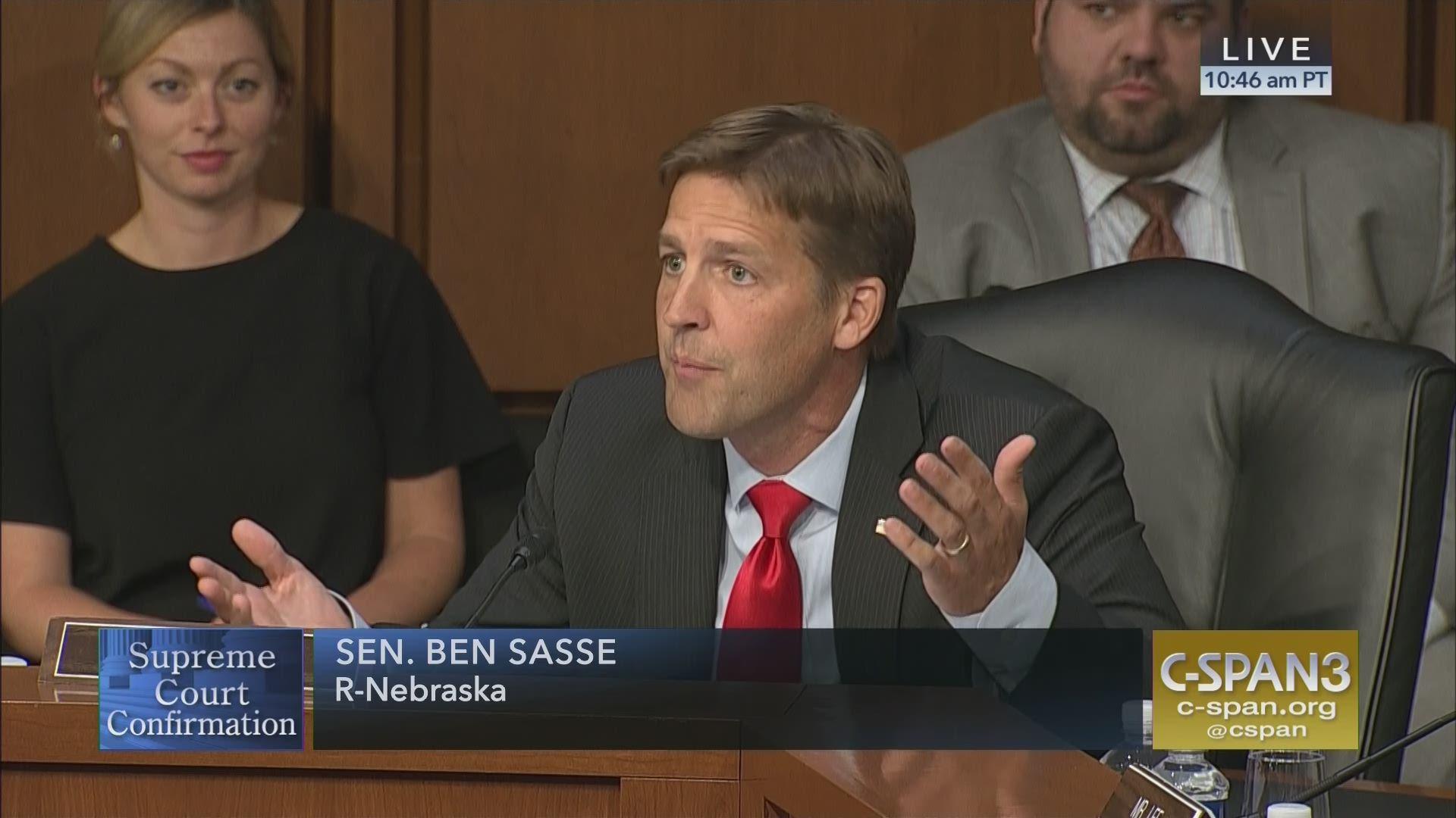 Image result for PHOTOS OF Sen. Ben Sasse