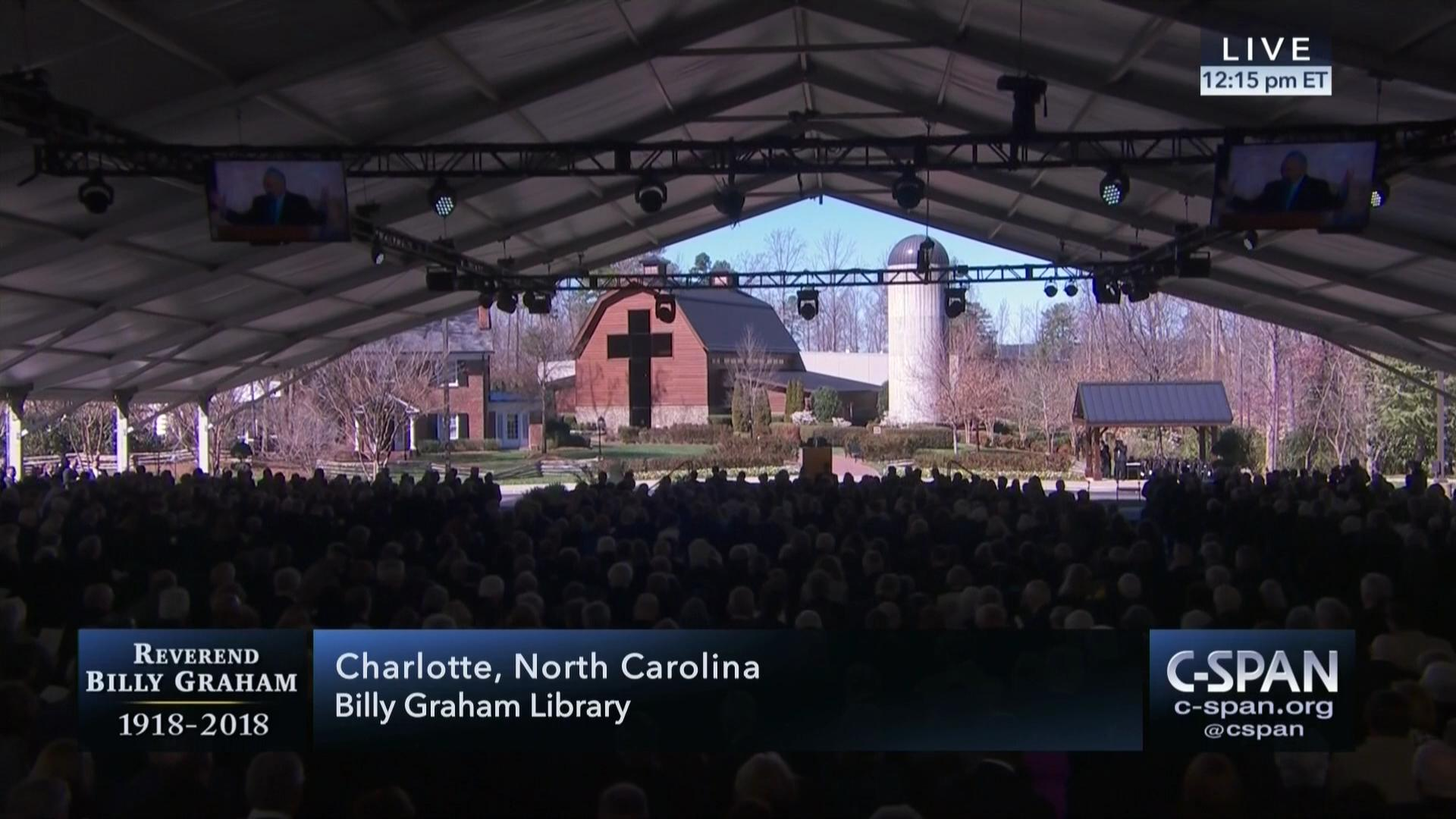 Reverend Billy Graham Funeral Service