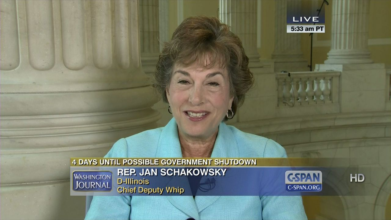Image result for PHOTO OF Representative Jan Schakowsky,