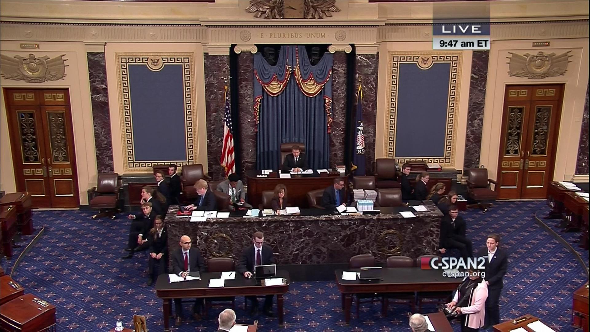 us senate adopts national defense authorization conference report