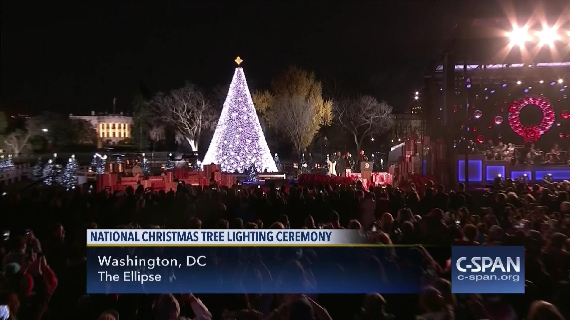 National Christmas Tree Lighting.National Christmas Tree Lighting Ceremony