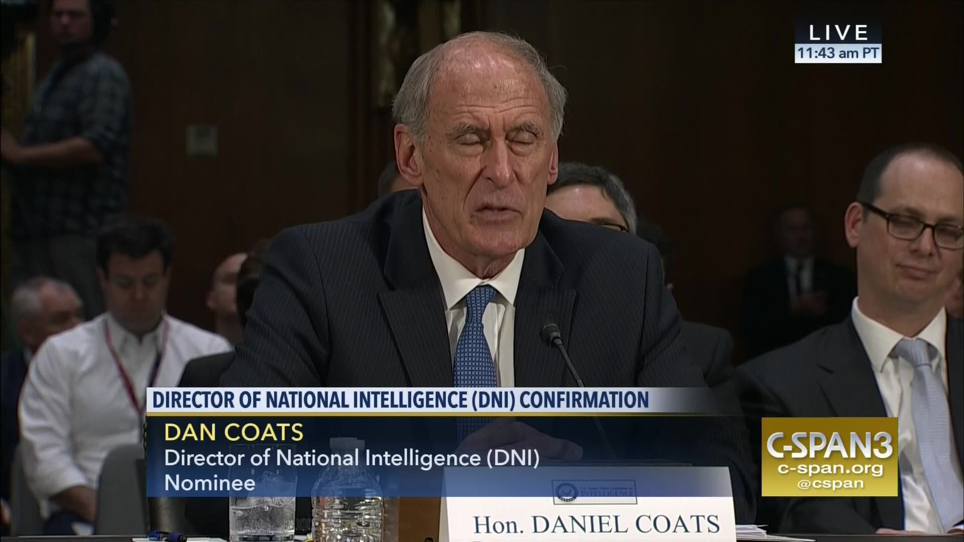 Image result for IMAGES OF CIA Director Mike Pompeo and DNI Daniel Coats