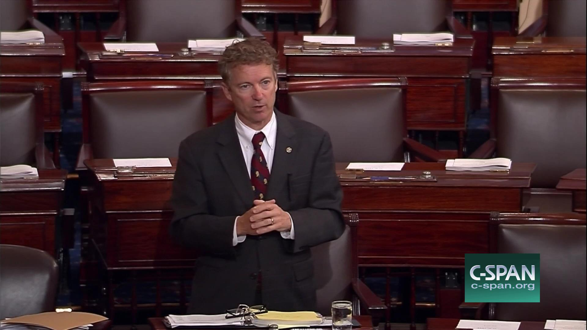 Senator Rand Paul Katz United States May 20 2015