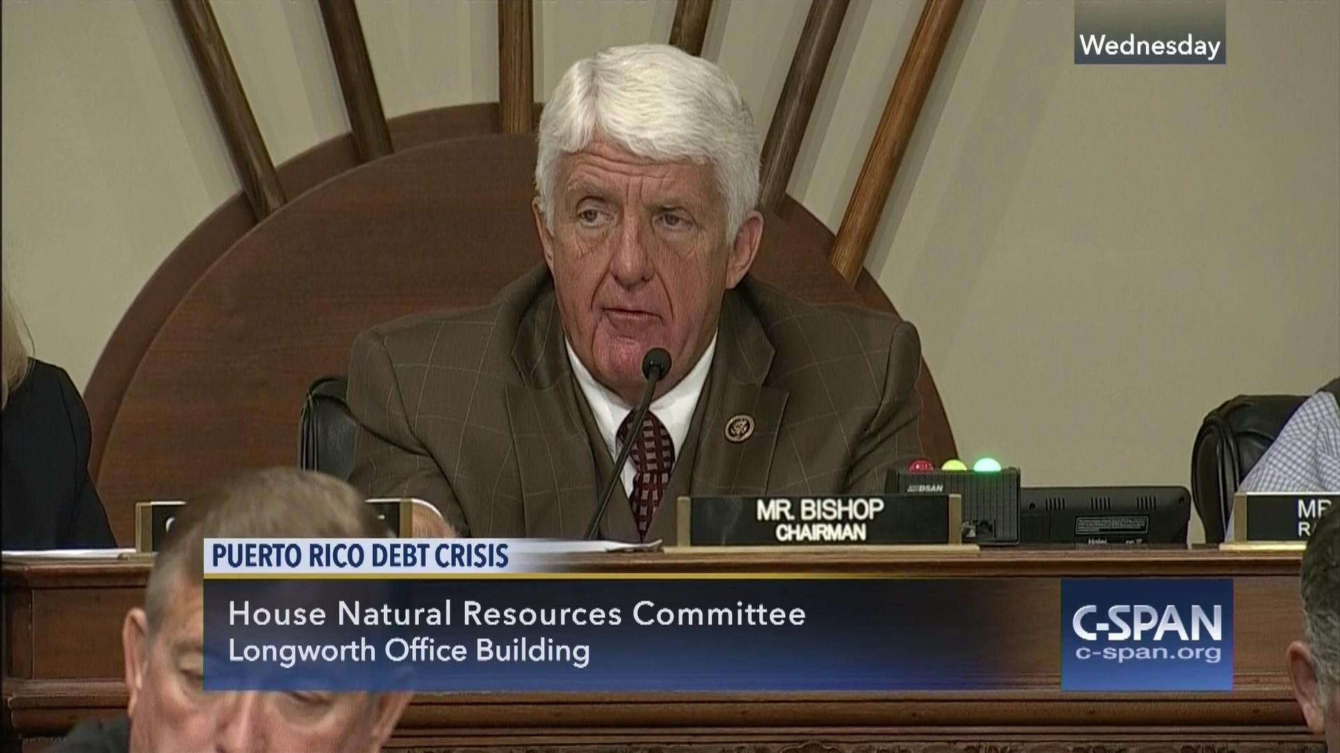 house committee meets mark puerto rican debt relief bill   c-span