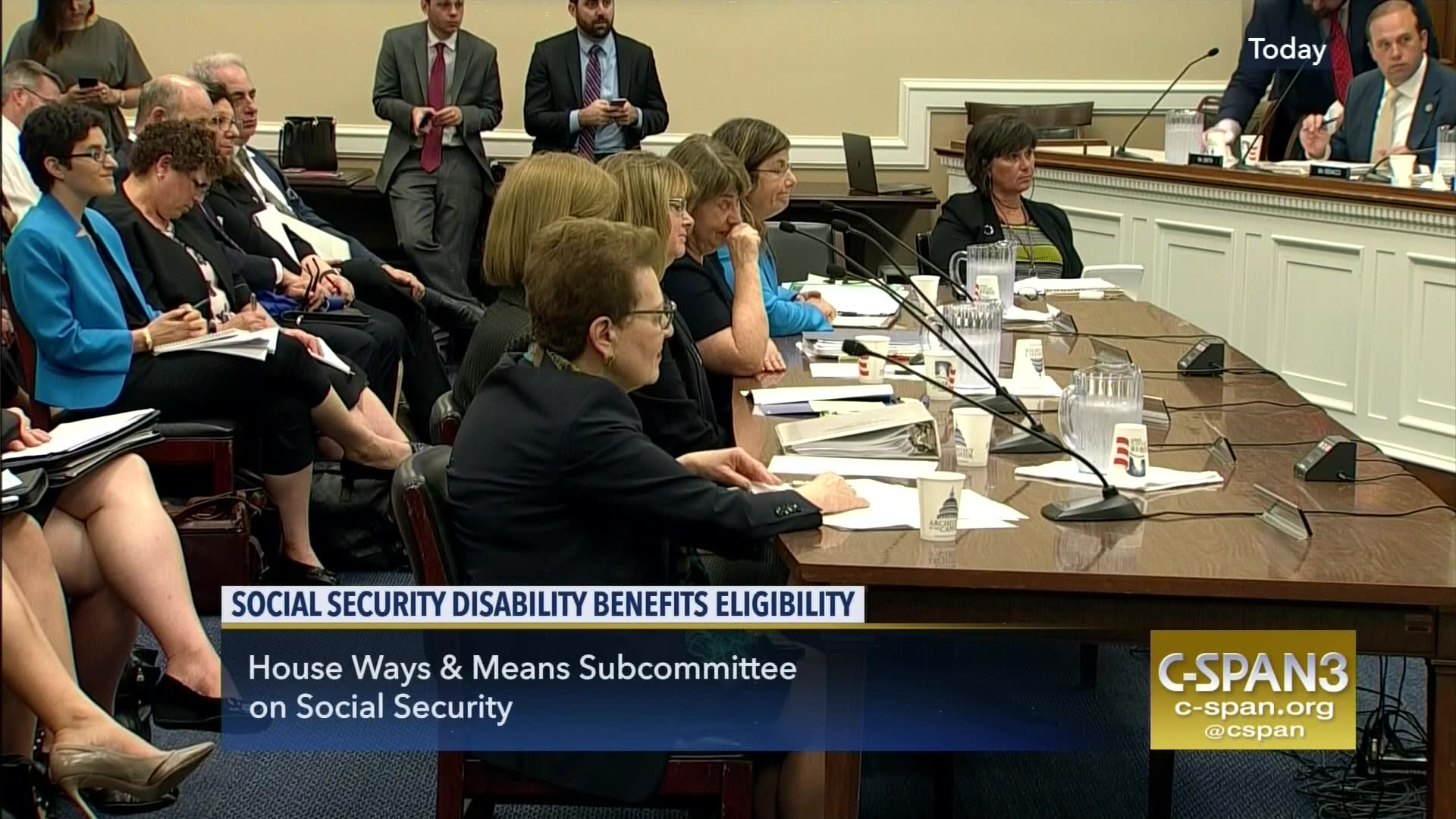 Lawmakers Social Security Disability Benefit Eligibility, Sep 6 2017 |  C-SPAN.org
