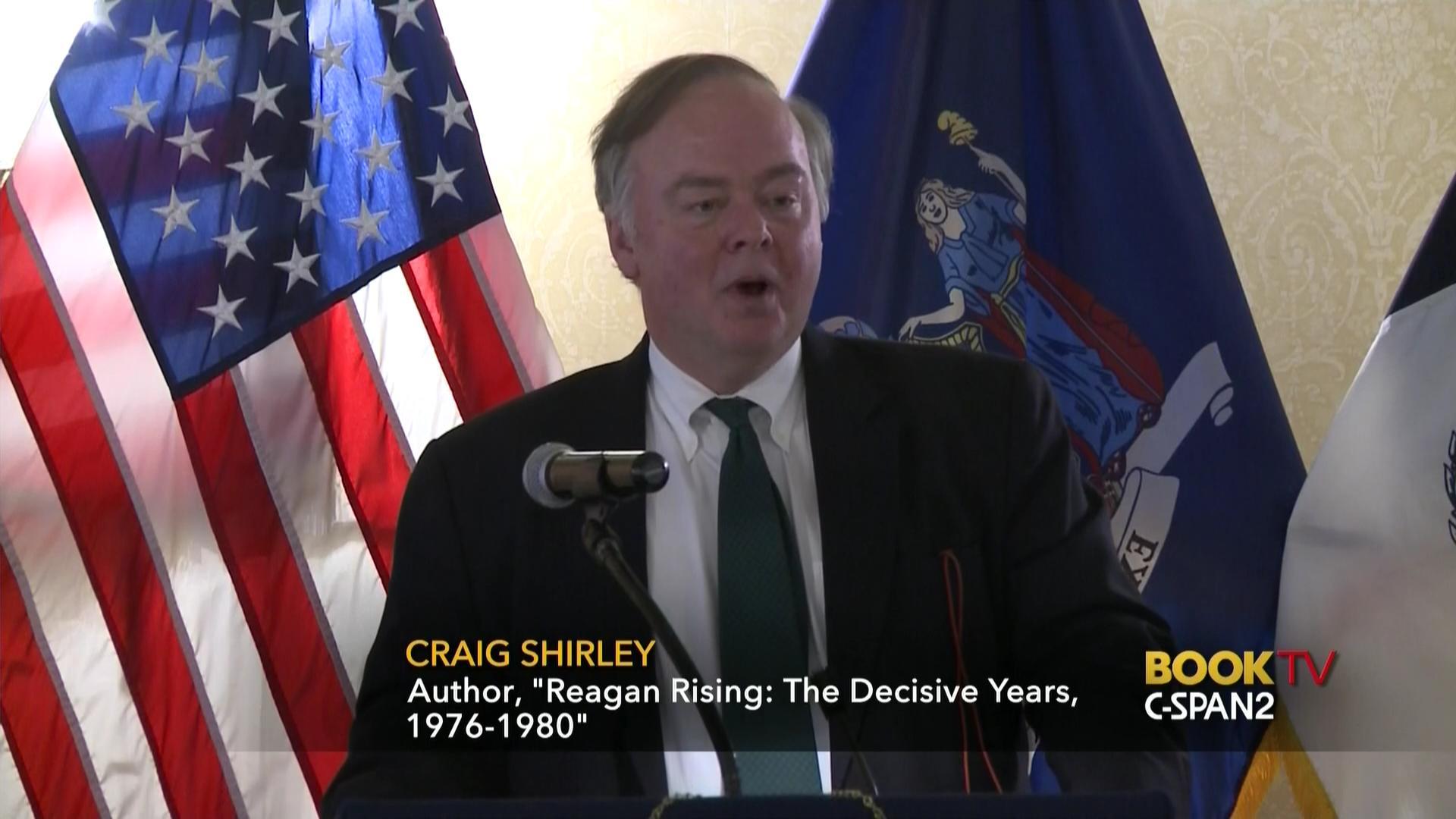 Craig Shirley Discusses Reagan Rising Mar 22 2017 Video