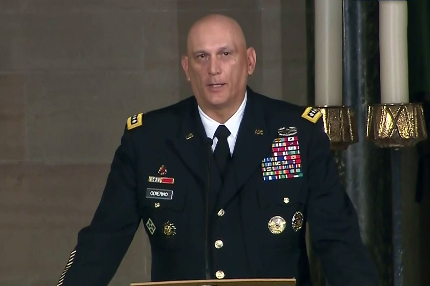 General Ray Odierno Delivers An Eulogy At Beau Bidena S Funeral C Span Org