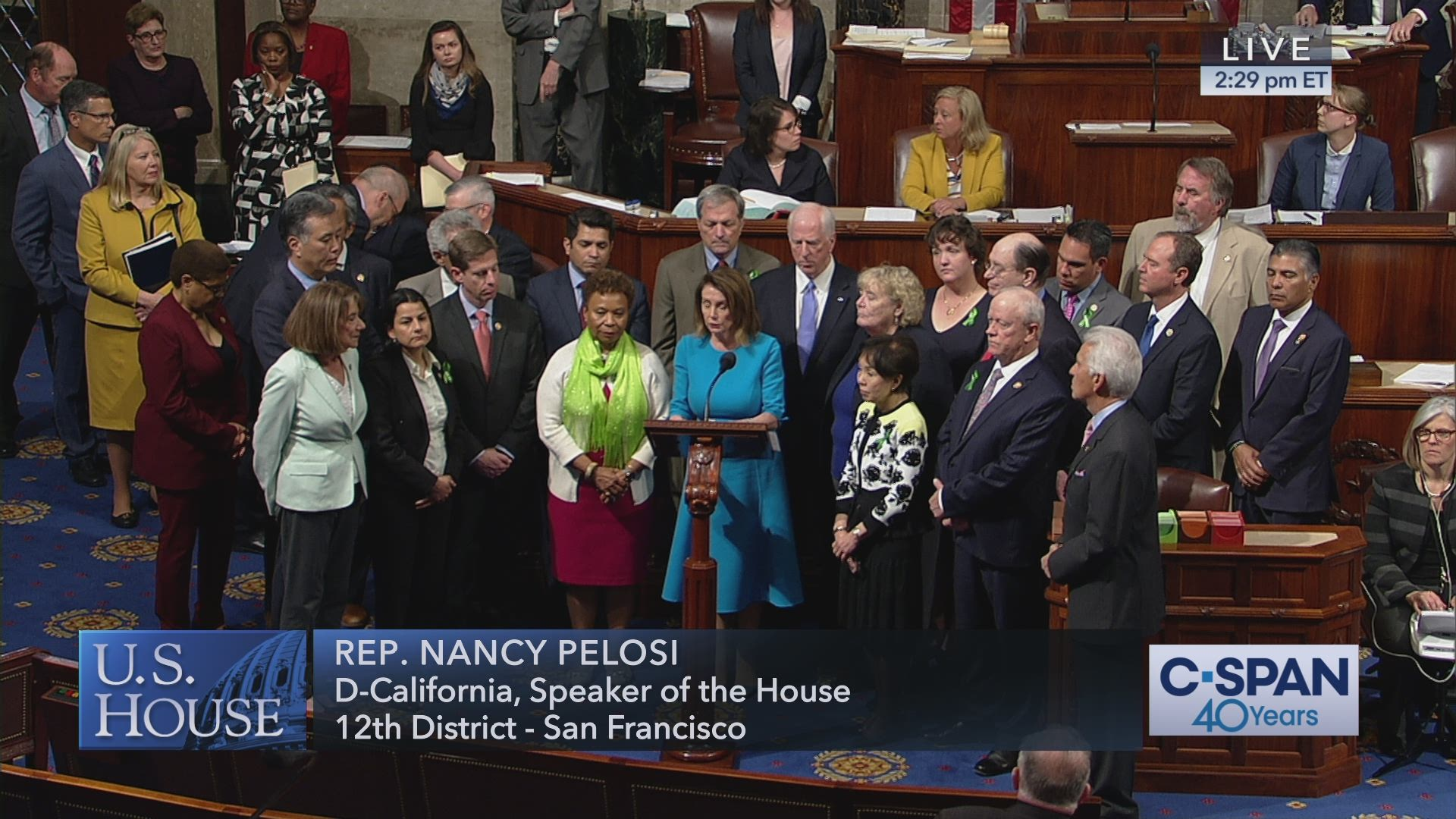 wholesale dealer 7f872 4a3ef Moment of silence for the late Rep. Ellen Tauscher (D-CA)   C-SPAN.org
