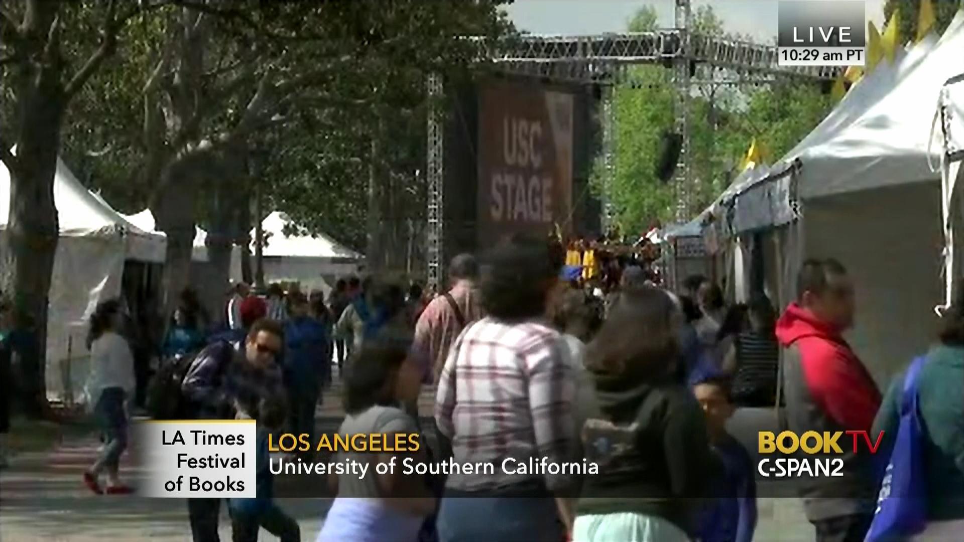2015 Los Angeles Times Festival Books Saturday, Apr 18 2015  Cspan