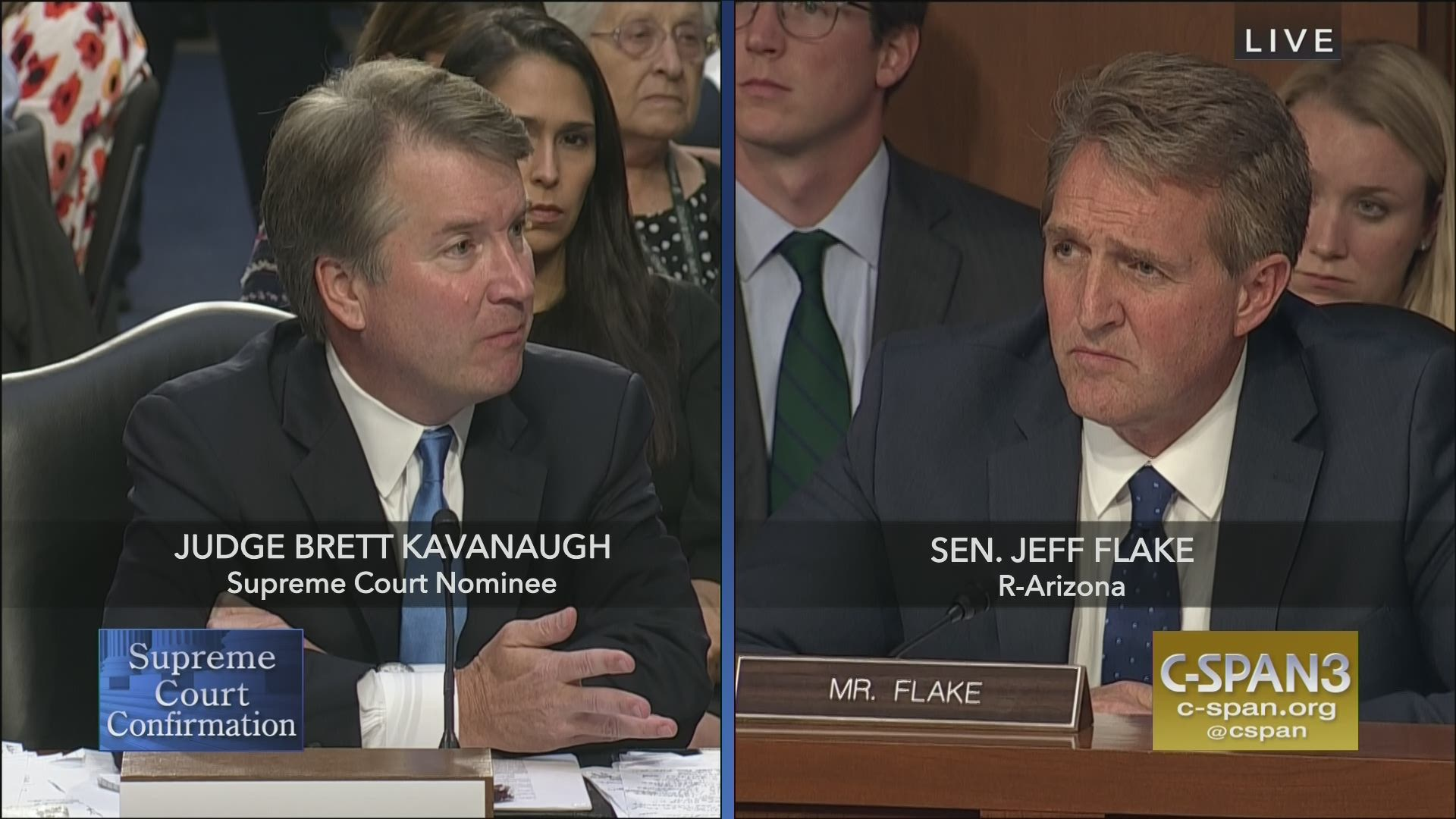 7f3f2a0b302 Supreme Court Nominee Brett Kavanaugh Confirmation Hearing