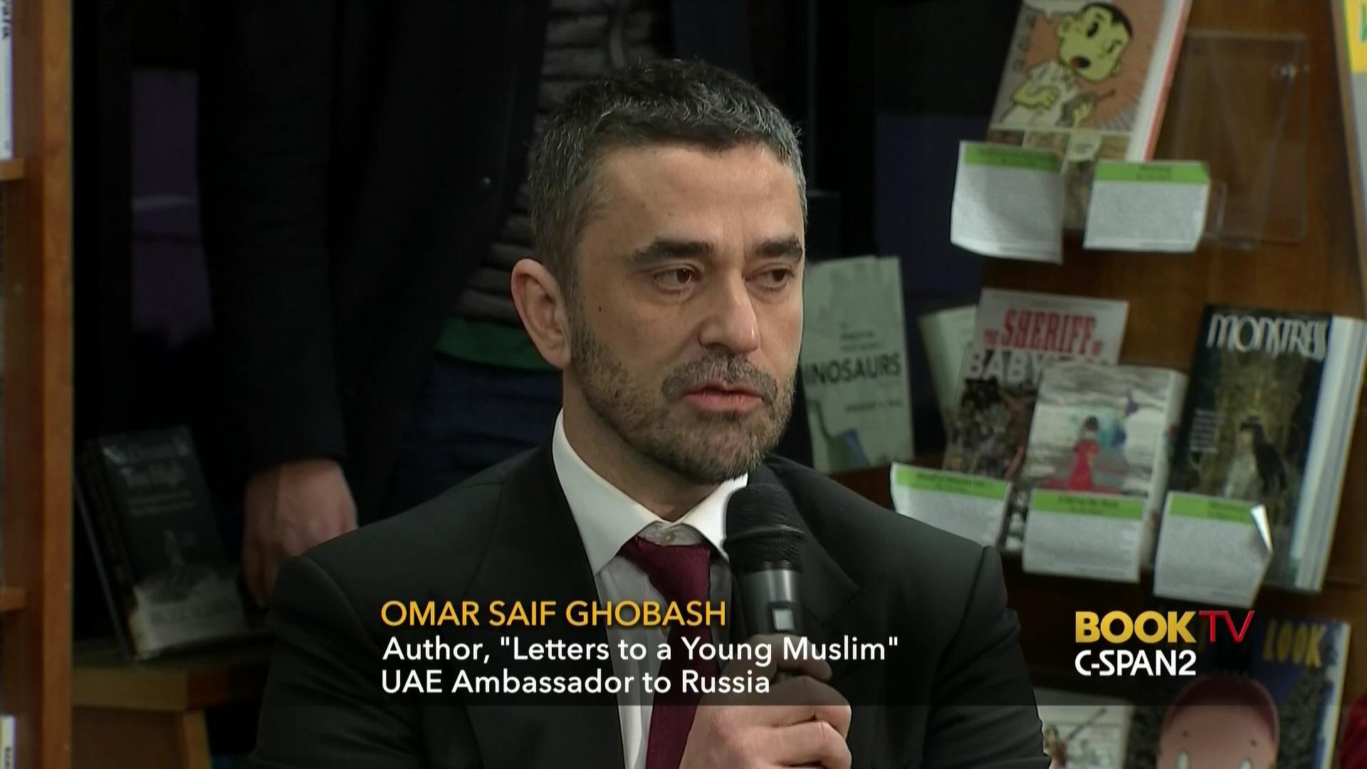 Omar Saif Ghobash Discusses Letters Young Muslim, Jan 6 2017  Cspan