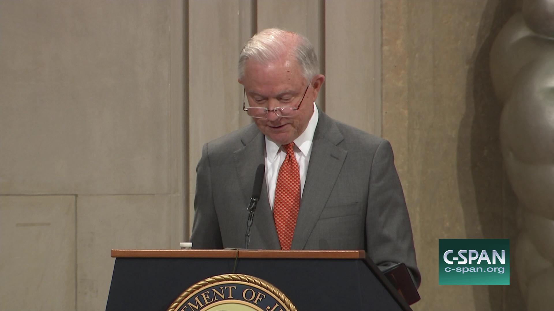Jeff Sessions Announces Religious Liberty Task Foce