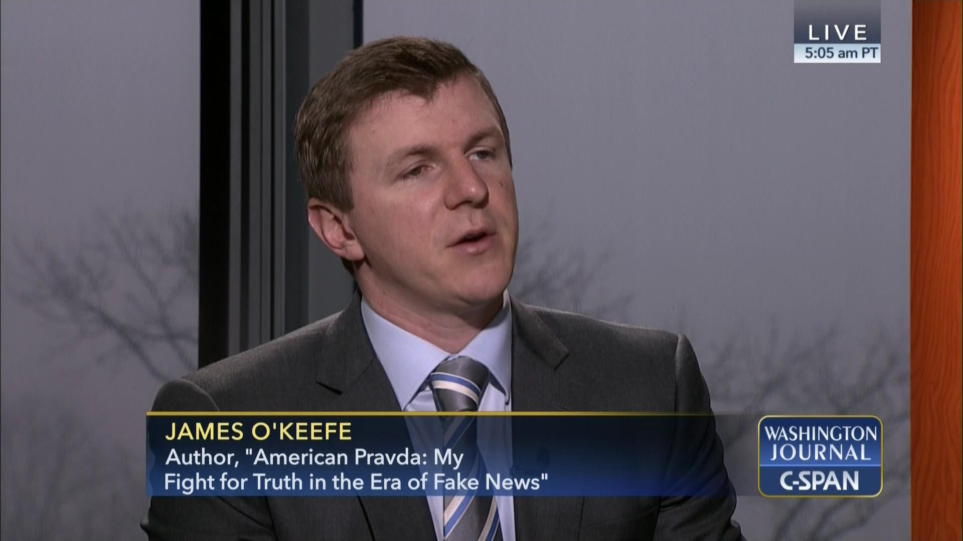 James O'Keefe on the Media | C-SPAN.org
