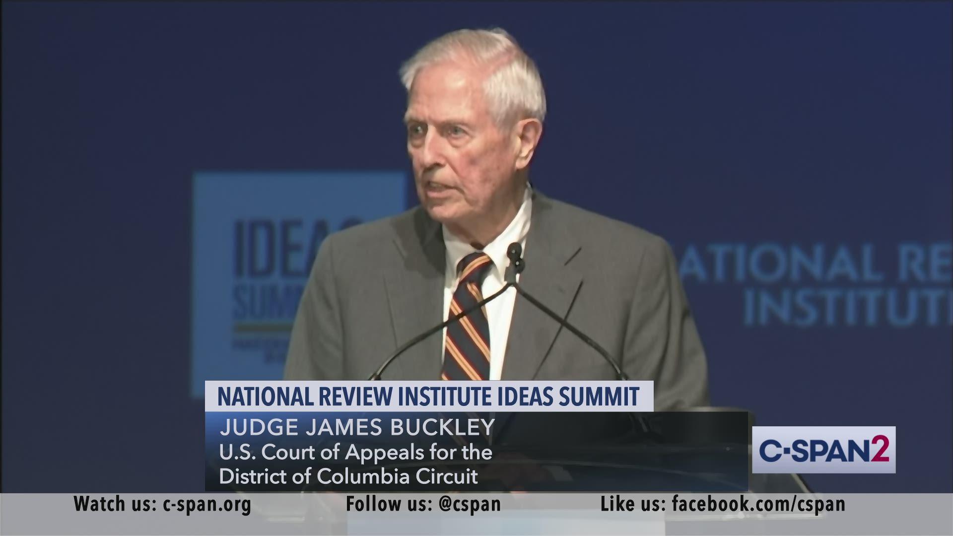 Judge James Buckley at National Review ...