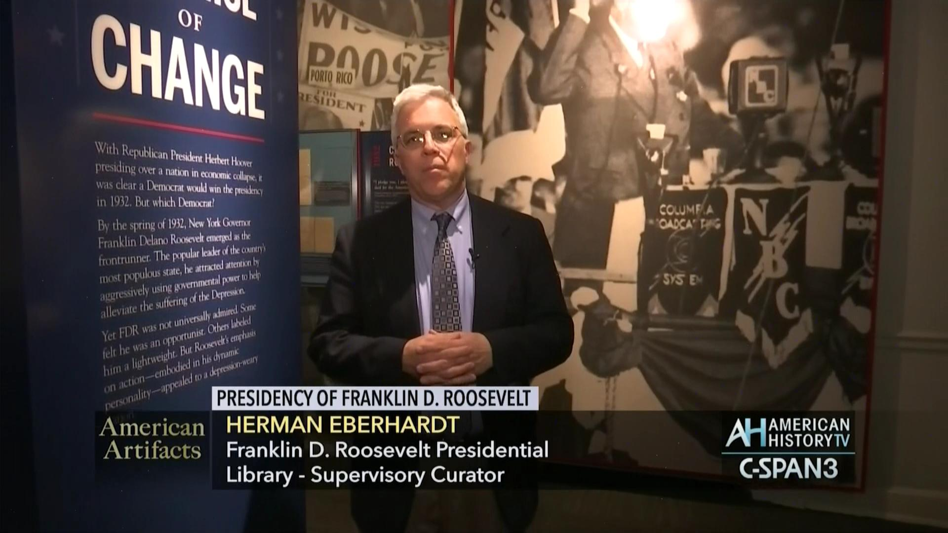 Franklin D Roosevelt Presidential Library Museum, May 22 2017 | C-SPAN.org
