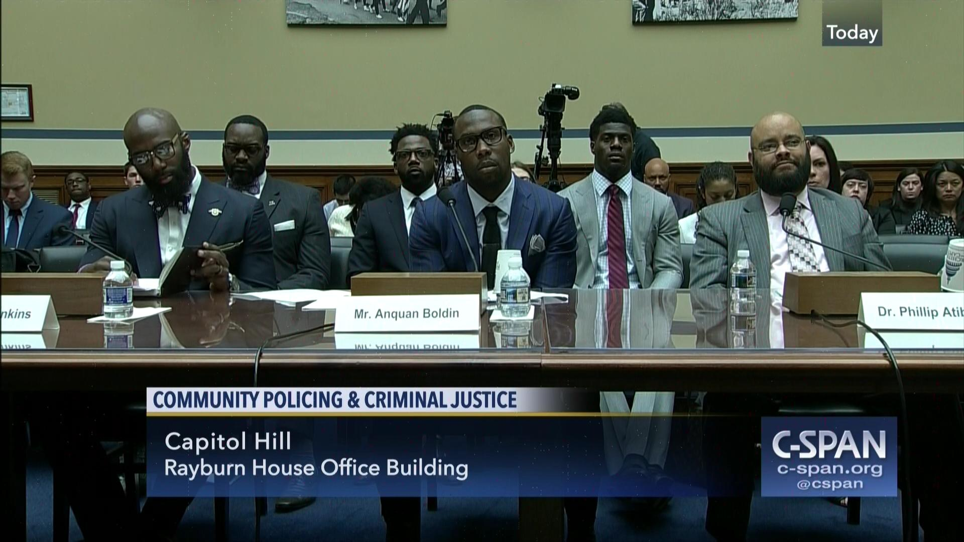 NFL Players Police Front Lines Broken Justice System, Mar 30 2017 |  C SPAN.org