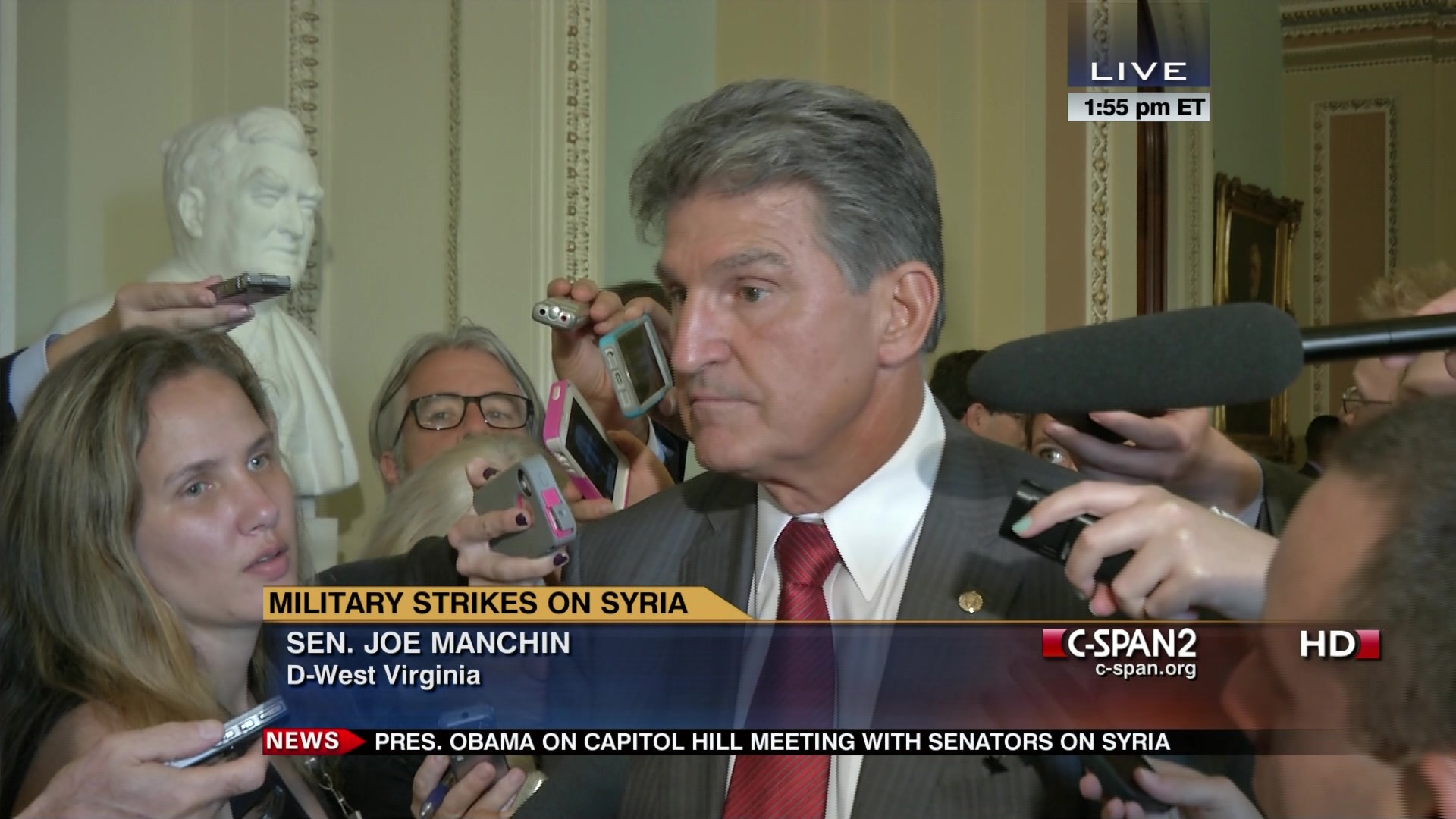 Senator Manchin on Syria