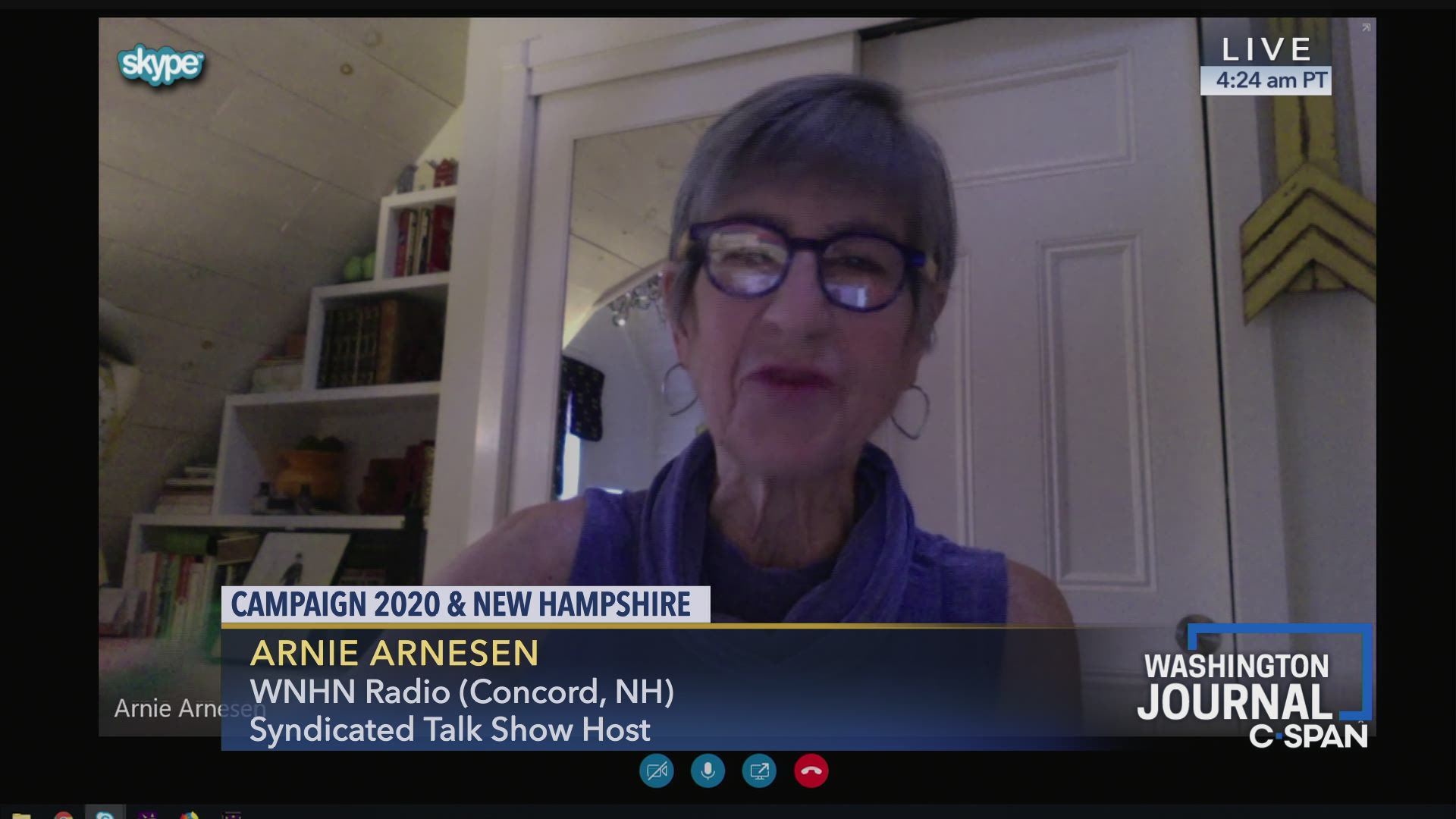 Arnie Arnesen on Campaign 2020 and New Hampshire